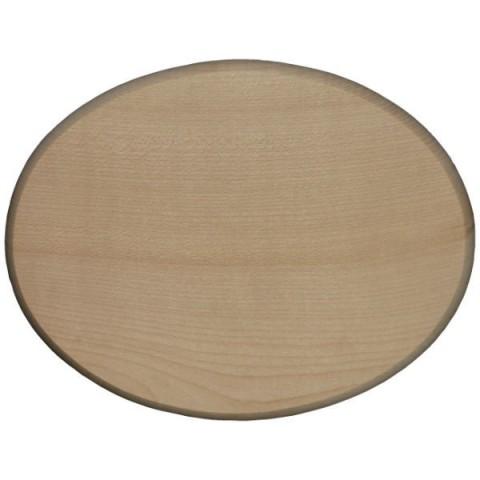 namensschild t rschild holz oval 18x12cm blanko zum. Black Bedroom Furniture Sets. Home Design Ideas