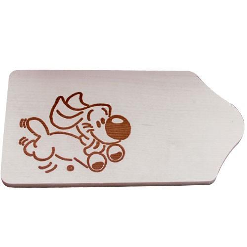 fr hst cksbrettchen holz mit gravur motiv hund zum selbstgestalten bemalen piccolino. Black Bedroom Furniture Sets. Home Design Ideas