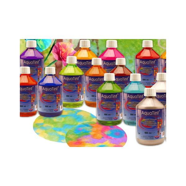Encre aquarelle dessiner aquatint peinture l 39 eau liquide blanc 250ml activit s manuelles - Peinture a l eau ...